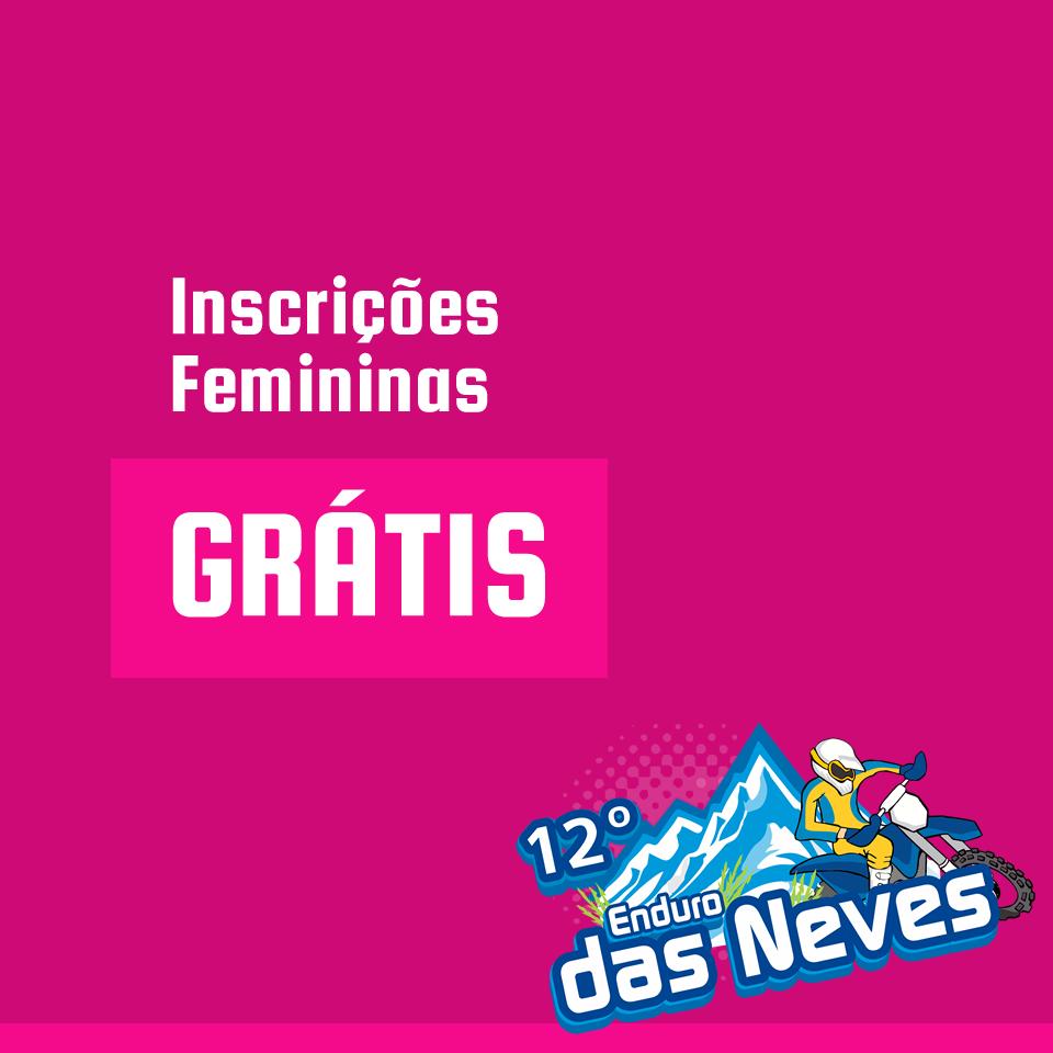 36915a9bed Inscrições Femininas Grátis - 13º Enduro das Neves